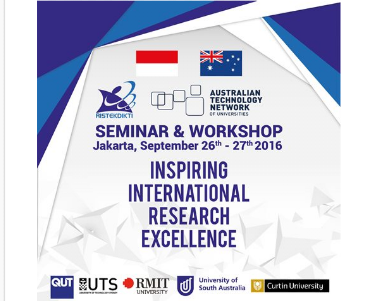 "Seminar dan Workshop ""Inspiring International Research Excellence"""